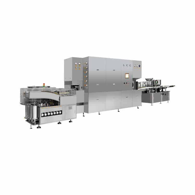 Advanced Technology south-carolina Factory Vial Bottle Powder Filling Production Line Powder Filling Machine