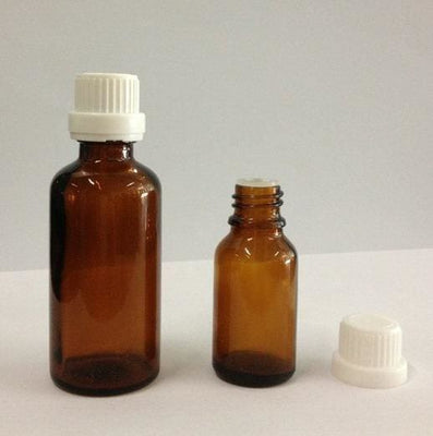 Amber Glass Bottle for Essencial Oil - Body Care Glass Bottle