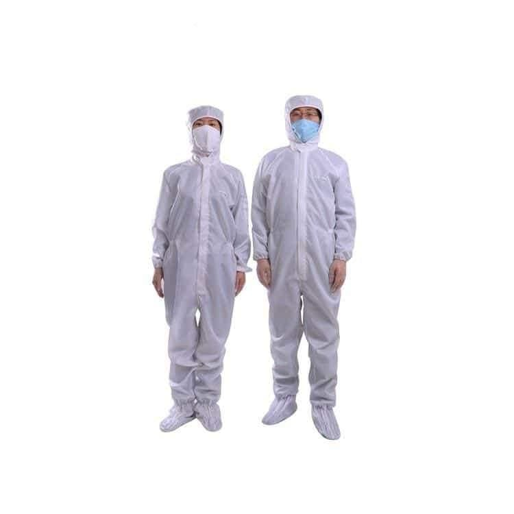 Jihan33 Antistatic Puncture Resistant Fabric Electrician Cleanroom Clothes