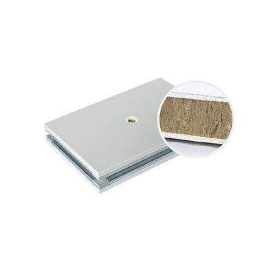 {apm} mgo board and rock wool filler handmade sandwich panel for clean room - Ungrouped
