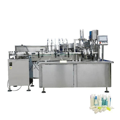 Aseptic linear liquid filling & stoppering machine for vials - Spray Filling Machine