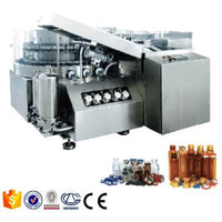 Automatic Pharmaceutical Glass Injection Vial Bottle Filling And Capping Machine Production Line