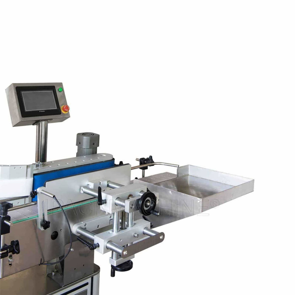 munna34 Automatic Poked Roll Type Vertical Labeling Machine