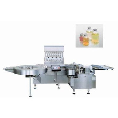 Bkgy300/400 Aseptic Liquid Filling Machine - Lyophilized Powder Production Line