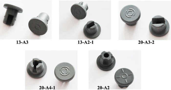 Butyl Rubber Stoppers for Lyophillous - Butyl Rubber Stopper