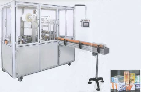 Bzt-q400 Pneumatic Cellophane Overwrapping Machine - Cellophane Overwrapping Machine