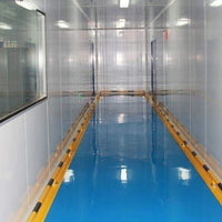 Container Class 10000 Clean Room Ffu