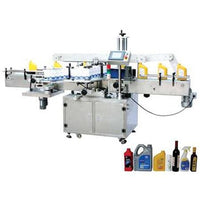 Double side Self-adhesive Labeling Machine (mpc-ds) (for Flat Square and Round Bottles) - Labeling Machine