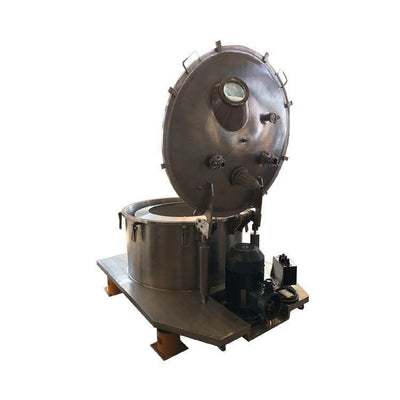 Flat bottom discharge drying centrifuge - Plate Centrifuge