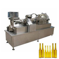 Glass ampule bottle cleaning,filling and sealing production machine - Ampoule Bottle Production Line