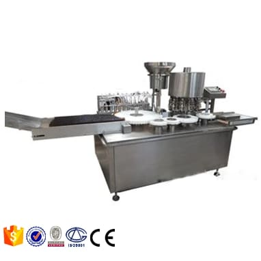 Glass bottle dropper filling machine for rose essential oil liquid filling equipment - Eye Drops Filling Line