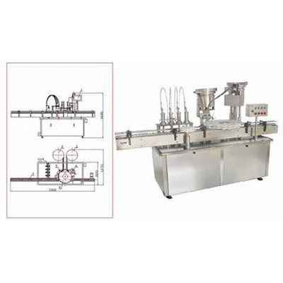 Hhg-is Filling and (screw) Capping Machine - Liquid Filling Machine
