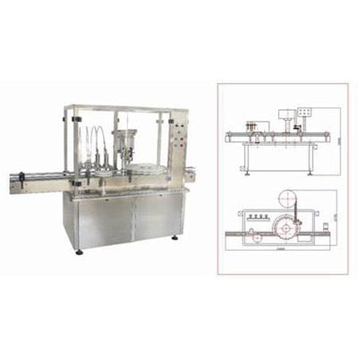 Hhg-s Filling and Stoppering Machine - Liquid Filling Machine