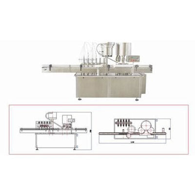 Hhgg High-speed Liquid-filling & Screwing Machine - Liquid Filling Machine