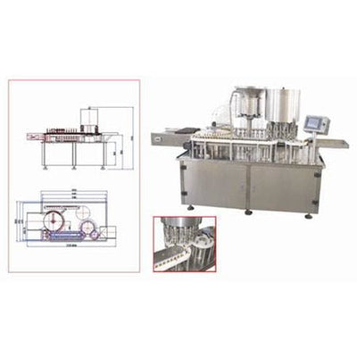 Hhgg10 Oral Liquid Filling and Capping Machine - Liquid Filling Machine