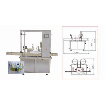 Hhgnx-i Eyes Drop Filling-capping Machine - Eyes Drop Filling
