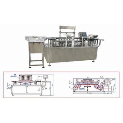 Hhgs300 Linear Filling and Stoppering Machine - Lyophilized Powder Production Line