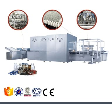 high speed automatic penicillin powder filling capping machine/new generation