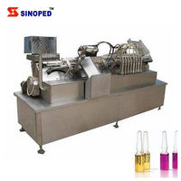 High speed closed glass ampule bottles filling machine - Ampoule Bottle Production Line