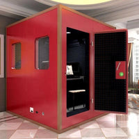 Home recording studio acoustic treatment sound system room