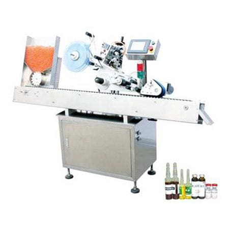 Horizontal Self-adhesive Labeling Machine (mpc-bs) - Labeling Machine