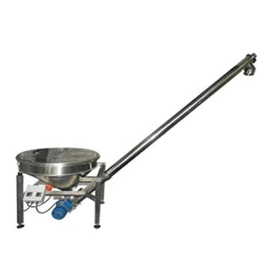 akib13Inclining Coal Powder Vibrating Screw Feeding Mini Hopper Feeder Auger Sawdust Micro Automatic Screw Feeder Machine