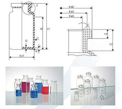Injection Vial - Glass Vial