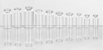 Injection Vials Made of Low Borosilicate Glass Tubing - Glass Vial