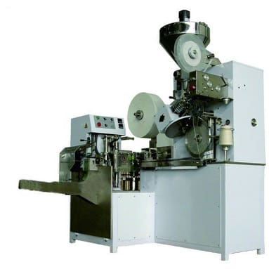 Label tea bag packing machine with thread - Tea Bag Packing Machine