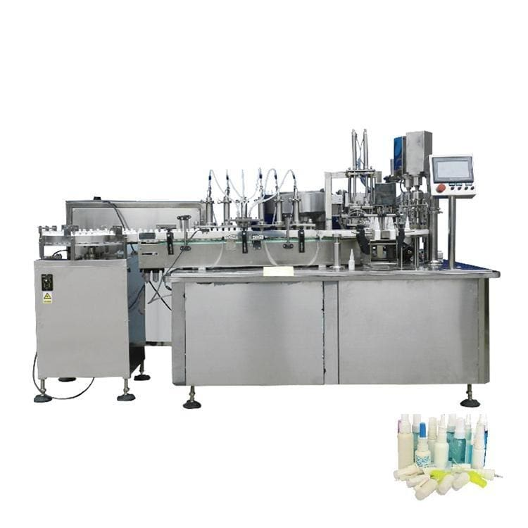 Milk standing up spout satchet stand-up pouch liquid juice pouch filling machine - Spray Filling Machine