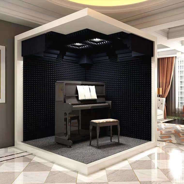 Mobile studio Soundproof room Mini live studio Silent sleep room Instrument practice room Indoor sound proof shed