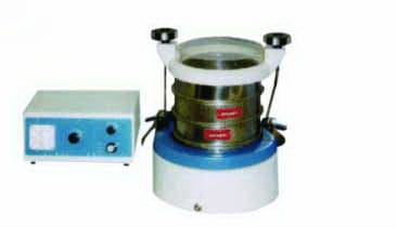 Model Wqs Vibrator with Sieve - Physico Optical Instrument
