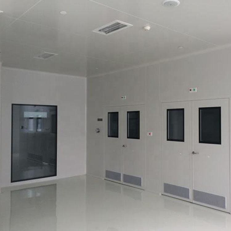 Modular Clean Room For Pharmaceutical Cleanrooms with 1000ft Iso5 Gmp 75mm Wall Sandwich Panel