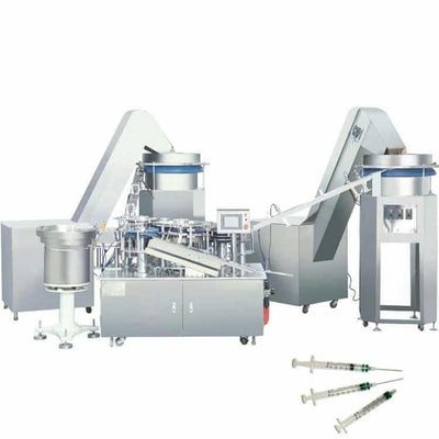 New Developed Prefilled Syringe Production Equipment