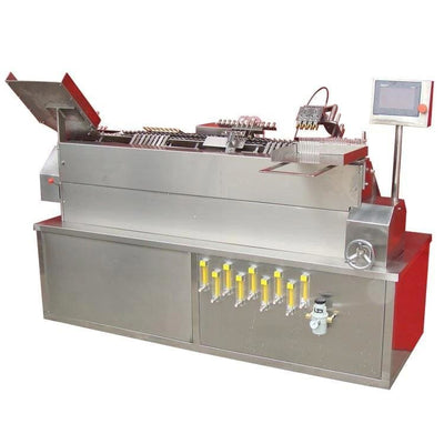 Oral liquid ampoule pull sealing machine. - Ampoule Bottle Production Line