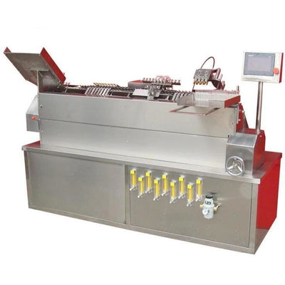 Oxyhydrogen flame sealer ampule- automatic ampoule filling and sealing machine - Ampoule Bottle Production Line