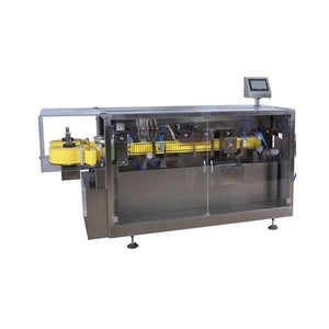 Pharmaceutical plastic ampoule piston filler and packing machine - Ampoule Bottle Production Line