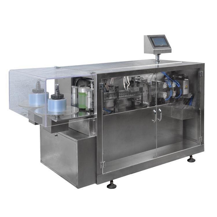 Plastic single dose ampule filling and sealing machine for liquid fillers - Ampoule Bottle Production Line