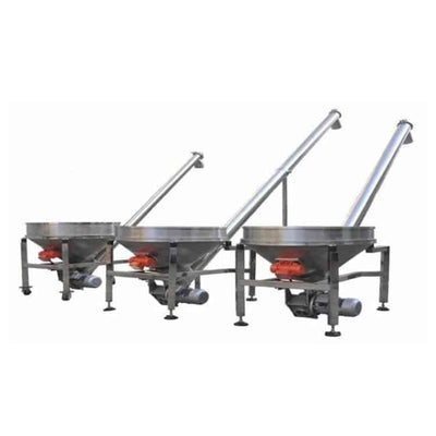 Screw Vibrating Feeding and Material Loading Machine