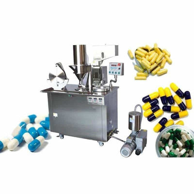 Semi-Automatic Capsule Filling Machine -Vertical