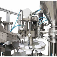Semi-automatic Plastic Tube Filling and Sealing Machine 30-50pcs/Min