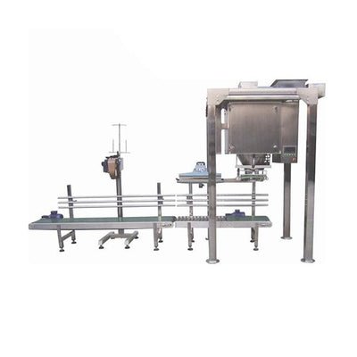 Semi-automatic wheat soy flour spice powder filling and packaging machine - Powder Filling Machine