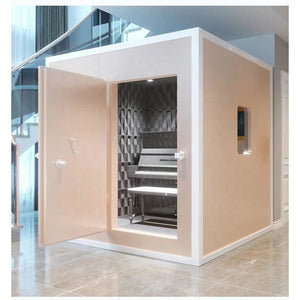 Shared telephone reading booth online sensation live broadcast room home piano song training mini studio mobile sound insulation