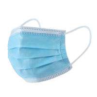 10 Pack-3 Ply Disposable Face Mask (Non-Medical)