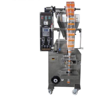 Sino-300t automatic 3 side seal liquid/ juice/ sauce/ milk pouch packaging machine - Sachat Packing Machine