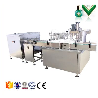 Soap liquid detergent dish wash liquid filling machine - Eye Drops Filling Line