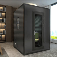 Soundproof room Small household KTV Mobile studio Foldable and detachable webcam KTV Music room