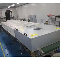 The USA Laboatory Clean Room Class 100 Low Noise Clean Booth With Ffu