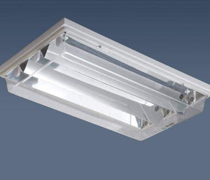 V shape hospital clean room 600*600 dust-proof led panel light