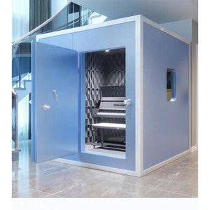 Voice actor customization sound proof studio custom house noise divider Video presenter Independent noise prevention room